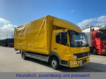 Mercedes-Benz * ATEGO 818 * PR.PL  * MBB BÄR 1 TON * BORDWAND  - schuifzeilen vrachtwagen