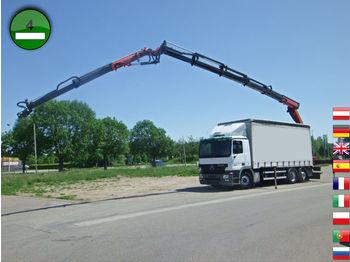 Mercedes-Benz Actros 2536 6x2 Palfinger Kran PK 23002+PJ060 Jo - schuifzeilen vrachtwagen