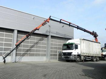 Mercedes-Benz Actros 2536 L 6x2 Pritsche Heckkran  - schuifzeilen vrachtwagen