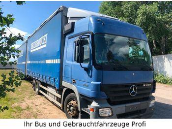 Mercedes-Benz Actros 2541 Jumbozug Euro 5 6x2(kein 2544,2546)  - schuifzeilen vrachtwagen