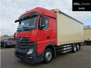 Mercedes-Benz Actros 2542 / Ladbordwand / Retarder  - schuifzeilen vrachtwagen