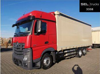 Mercedes-Benz Actros 2542 /Ladebordw. /MB Standklima /Retarder  - schuifzeilen vrachtwagen