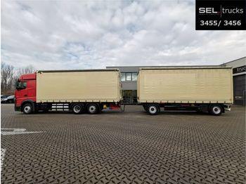 Mercedes-Benz Actros 2542 / Ladebordwand / Retarder  - schuifzeilen vrachtwagen