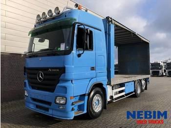 Mercedes Benz Actros 2641 Euro 3 6x2 - POULTRY TRUCK - schuifzeilen vrachtwagen