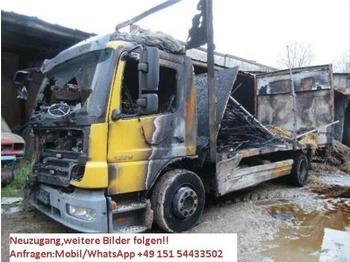 Schuifzeilen vrachtwagen Mercedes-Benz - Atego1229L Brandschaden