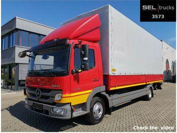 Mercedes-Benz Atego 1018 4x2 / Ladebordwand  - schuifzeilen vrachtwagen