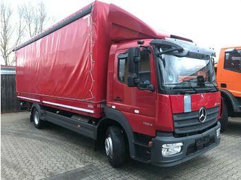 Schuifzeilen vrachtwagen Mercedes-Benz Atego 1224 BL Pritsche Plane LBW 7100mm