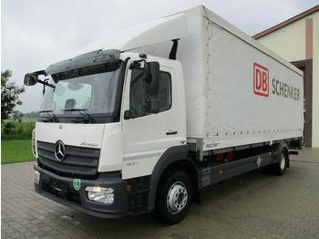 Verpachting Mercedes-Benz Atego 1527L Schenker Schiebeplane links Webasto  - schuifzeilen vrachtwagen