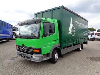 Mercedes-Benz Atego 815 + Manual + Dhollandia Lift - schuifzeilen vrachtwagen