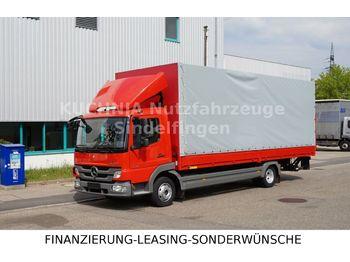 Mercedes-Benz Atego 818L Pritsche 7,22m  LBW Klima Luftgef  - schuifzeilen vrachtwagen