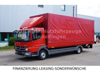 Verpachting Mercedes-Benz Atego 818L Pritsche 7,22m LBW Klima Luftgef  - schuifzeilen vrachtwagen