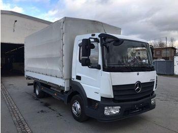 Mercedes-Benz MB 818 Atego 3 4x2  mit LBW  - schuifzeilen vrachtwagen