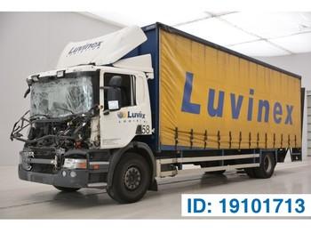 Scania P270 - schuifzeilen vrachtwagen