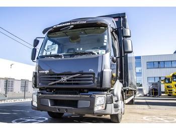 Volvo FL 240-12t + Aluvan 7.87m+DOLLANDIA - schuifzeilen vrachtwagen