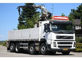 Volvo FM12/380 8X2 !!KENNIS ROLLER !!STENENWAGEN!!BAUSTOFF!!EURO5!!453dkm!! - vrachtwagen