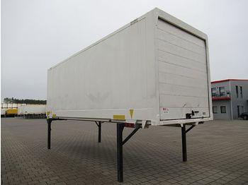 Kofferaufbau Krone - BDF Wechselkoffer 7,45 m Glattwand Rolltor