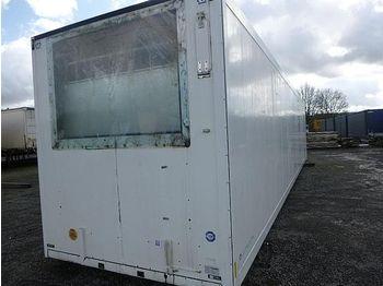 Kühlkofferaufbau Krone - mob. Kühllager 13,60 m, ab SOFORT
