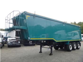 قلابة نصف مقطورة Weightlifter Tipper trailer alu 50 m3 + tarpaulin