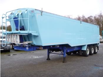 قلابة نصف مقطورة Weightlifter Tipper trailer alu 51.5 m3 + tarpaulin