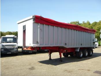 قلابة نصف مقطورة Wilcox Tipper trailer alu 54 m3 + tarpaulin