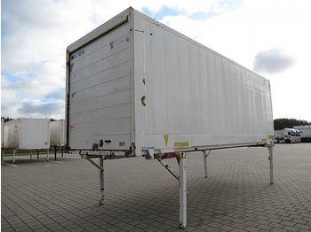 Krone - BDF Wechselkoffer 7,45 m Glattwand Rolltor - gesloten laadbak