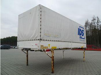 Krone - BDF-Wechselpritsche mit Bordwand 7,45 m - schuifzeilen laadbak
