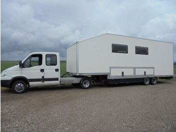 Wohnmobil Iveco BE Camper combinatie, Mobile home trailer + Iveco 7 pers. trekker Mobile home 7 personen!