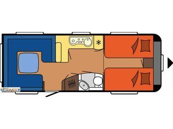 Hobby Prestige 620 CL Dachklimaanlage  - Wohnwagen