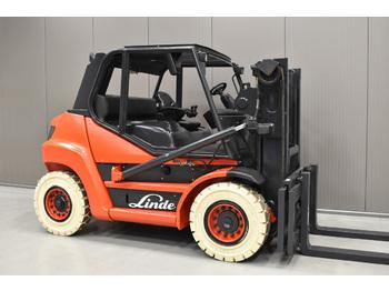 LINDE H 70 D-01 - wózek widłowy czołowe 4 kołowe