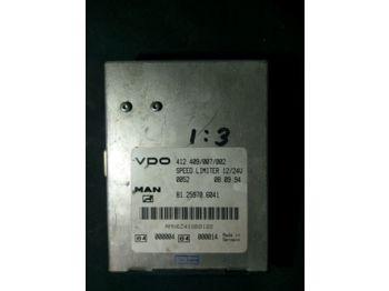 Yönetim bloku MAN VDO Speed Limiter 412.409/007/002 81.25970.6041