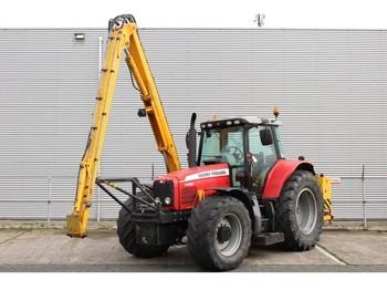 Zemědělský traktor Massey Ferguson 7480 Dyna-VT met Herder Grenadier MBK 503 LS