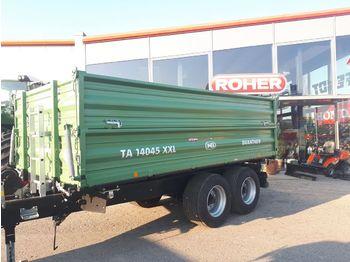 Brantner TA14045 XXL  - savivartė traktorinė priekaba