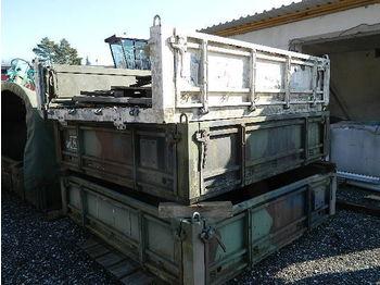 PRITSCHE mit Bordwänden mehrfach PRITSCHE - кузов-платформа