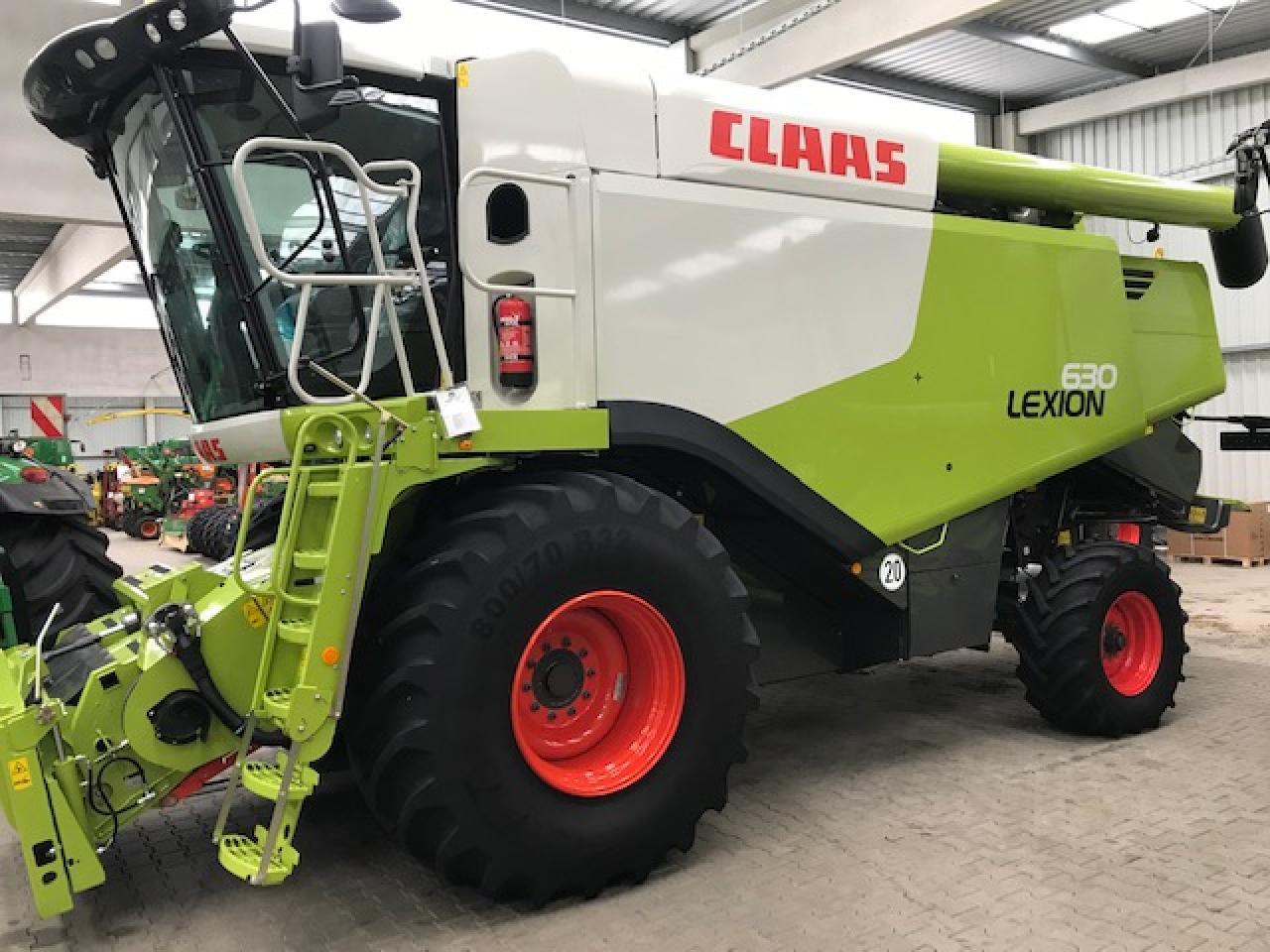 CLAAS Lexion 630 Montana