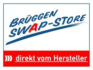 Kofferaufbau Krone - Wechselkoffer Glattwandkassette mit Heck Alu. Rol
