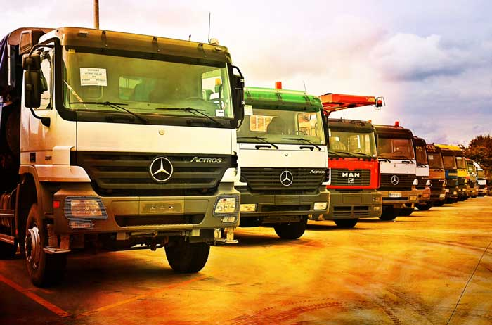 Mercedes and MAN vehicles and spare parts is the main specialization of Braem Frères s.a.