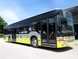 The choice of city buses and other kinds of buses