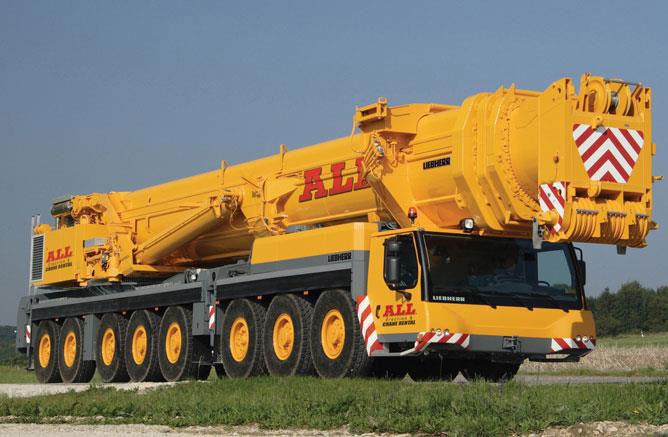 The biggest mobile cranes